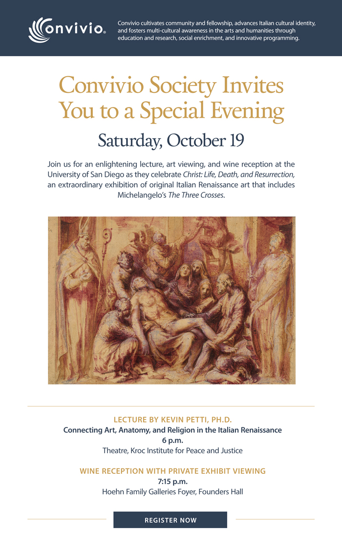 Register Now for a Special Evening, Saturday, October 19.